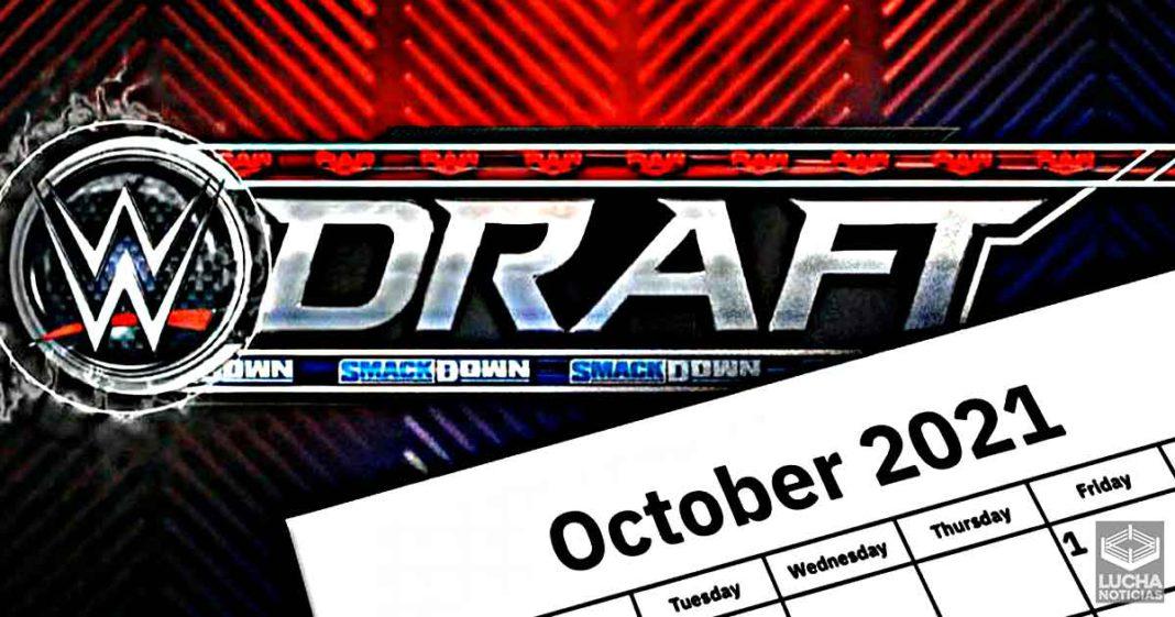 Fechas para el WWE Draft 2021