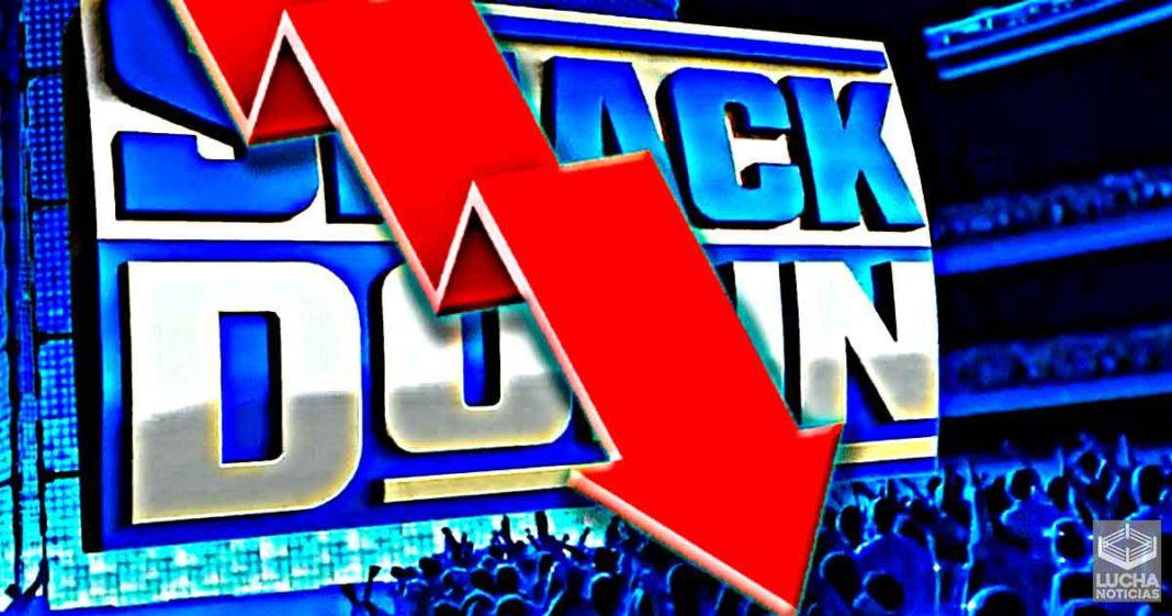 Los ratings de WWE SmackDown bajan mucho previo a Extreme Rules