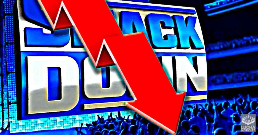 Los ratings de WWE SmackDown disminuyen drásticamente