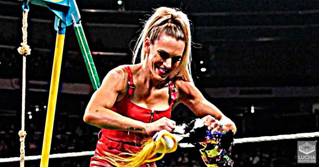 Muchos fans abandonaron la arena durante el segmento de Charlotte y Alexa Bliss en RAW