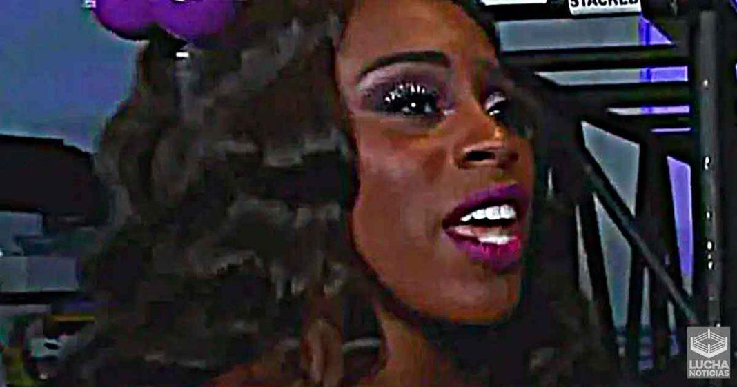 Naomi recibe una multa por parte de la WWE