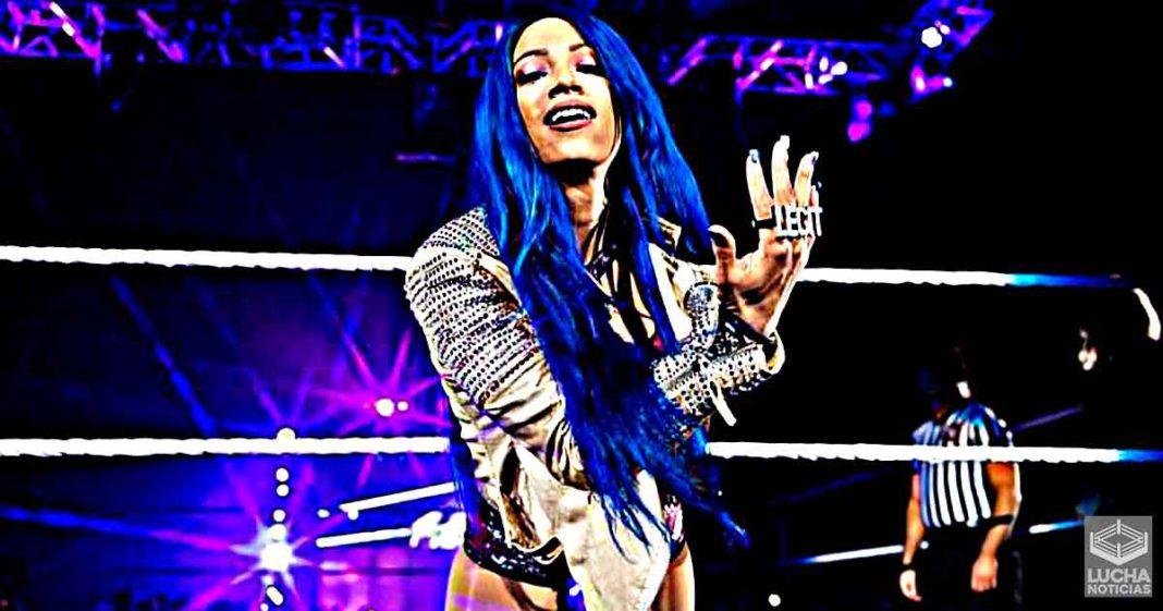 Nuevos detalles en backstage sobre Sasha Banks