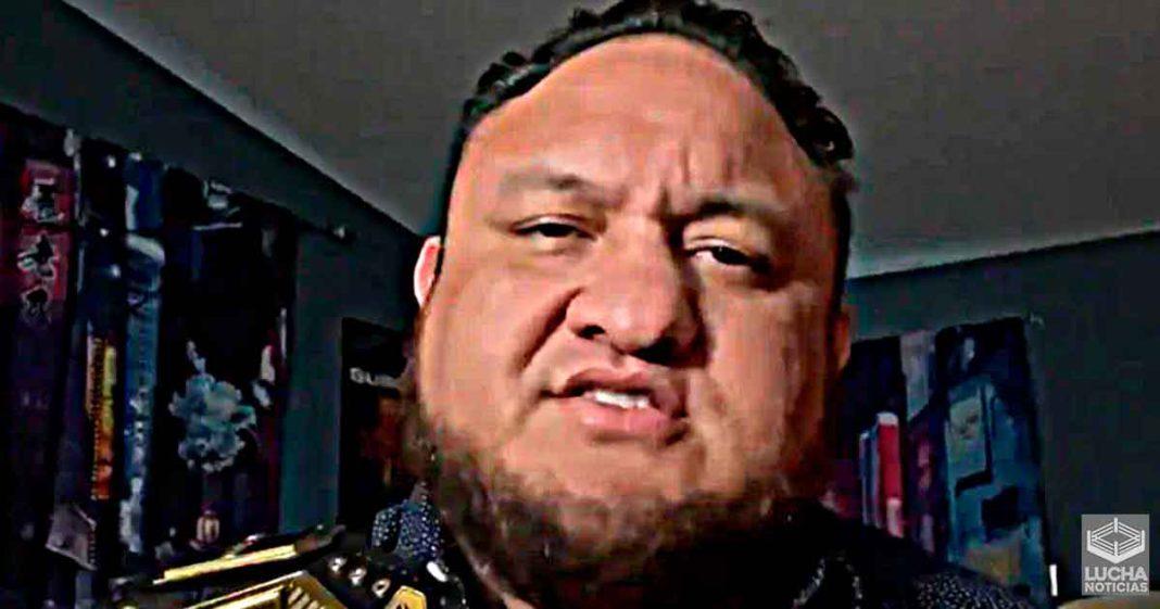 Samoa Joe renuncia al campeonato de NXT por lesión