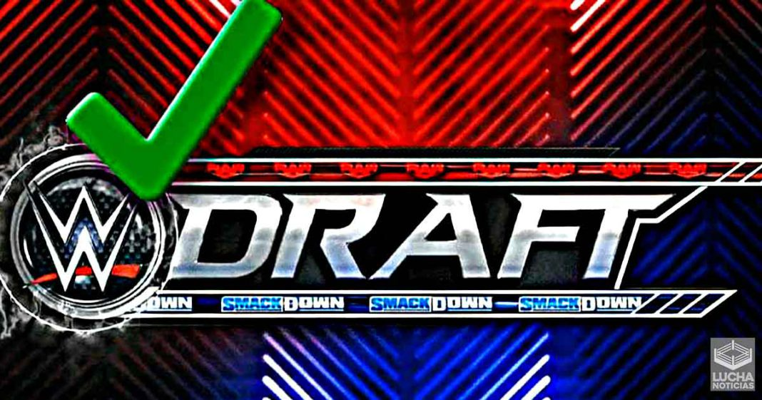 Se confirman las fechas del WWE Draft 2021