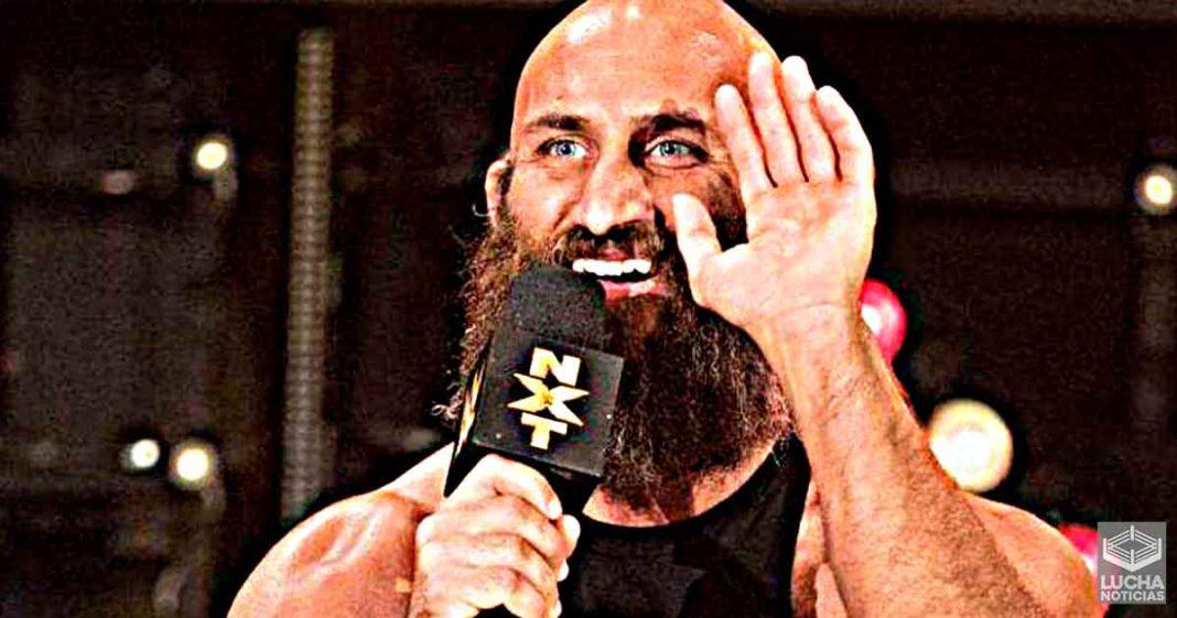 Tommaso Ciampa está emocionado por el cambio de imagen de WWE NXT