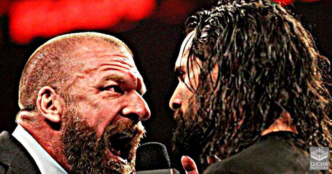 Triple H le dijo a Seth Rollins que no ve nada especial en él