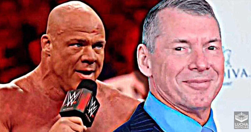 Vince McMahon hizo que Kurt Angle memorize 3 páginas de guión en 10 minutos