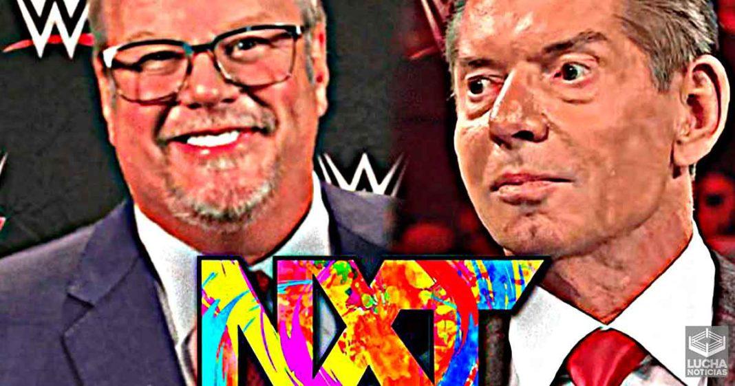 WWE NXT será ahora producido por Vince McMahon y Bruce Prichard