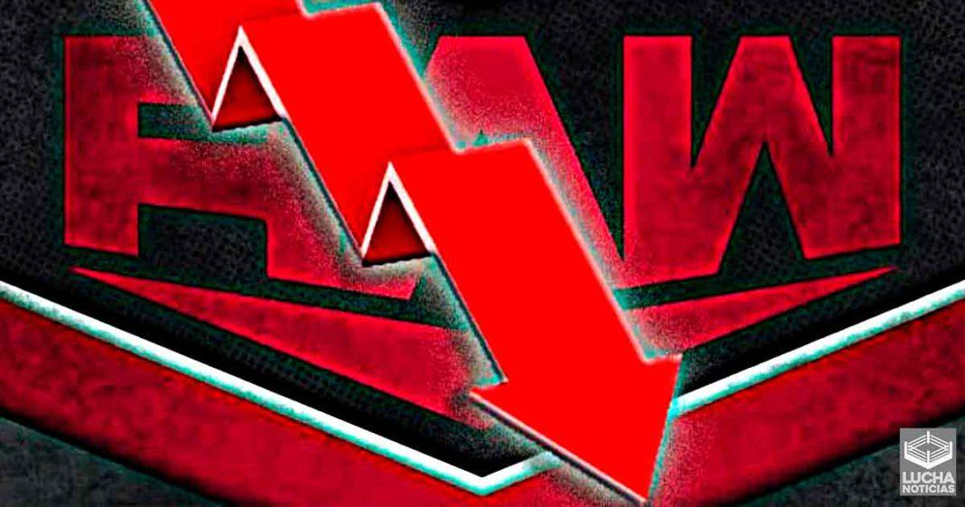 WWE RAW baja sus ratings esta semana