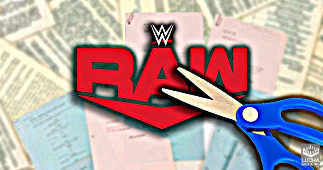 WWE hizo muchos cambios a RAW esta semana