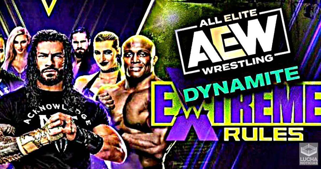 WWE no cambiará sus planes para Extreme Rules por las acciones de AEW