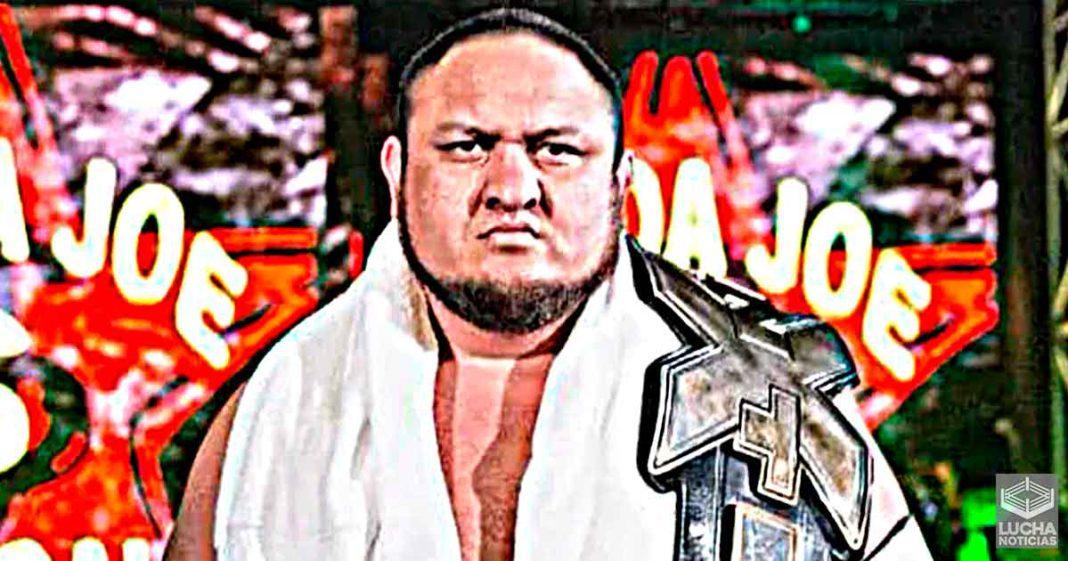 WWE no contrato a Samoa Joe para un rol como luchador en NXT