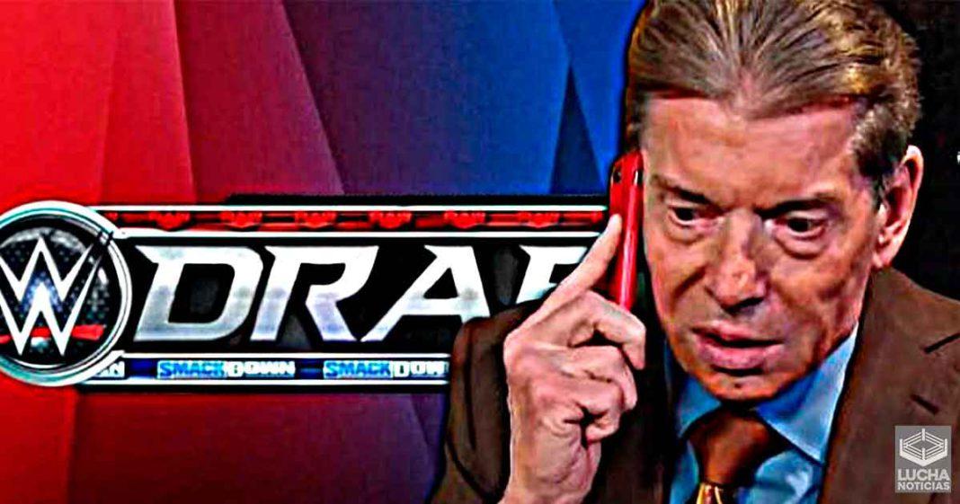 WWE no ha tomado ninguna decisión importante sobre el DRAFT