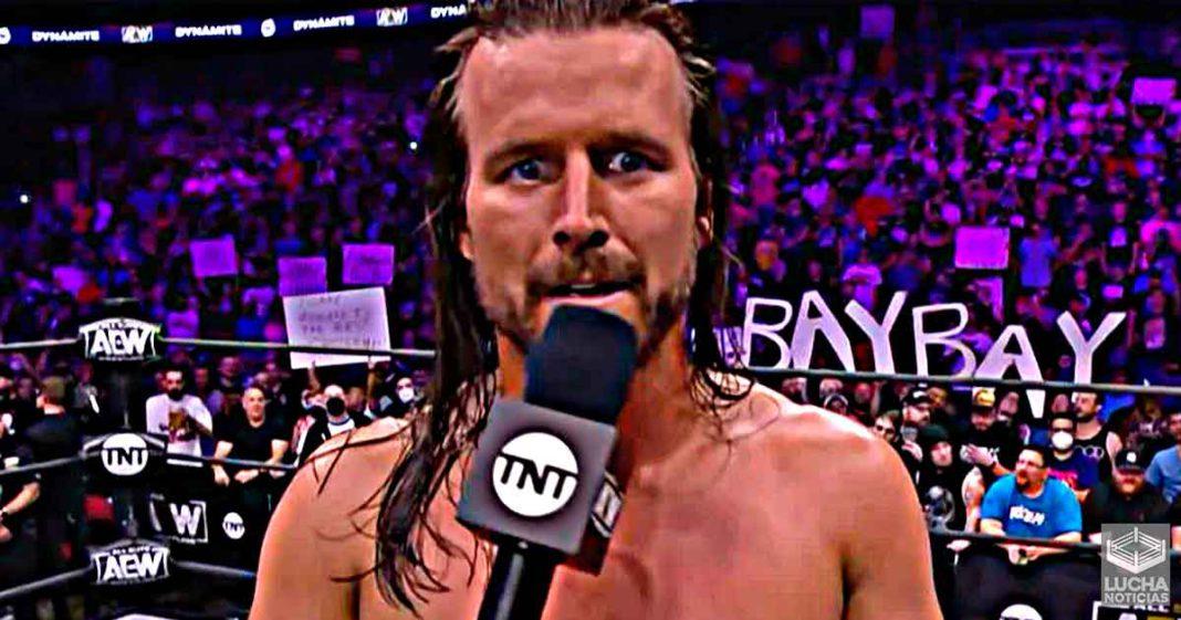 WWE quería cambiar la imagen de Adam Cole en el elenco principal