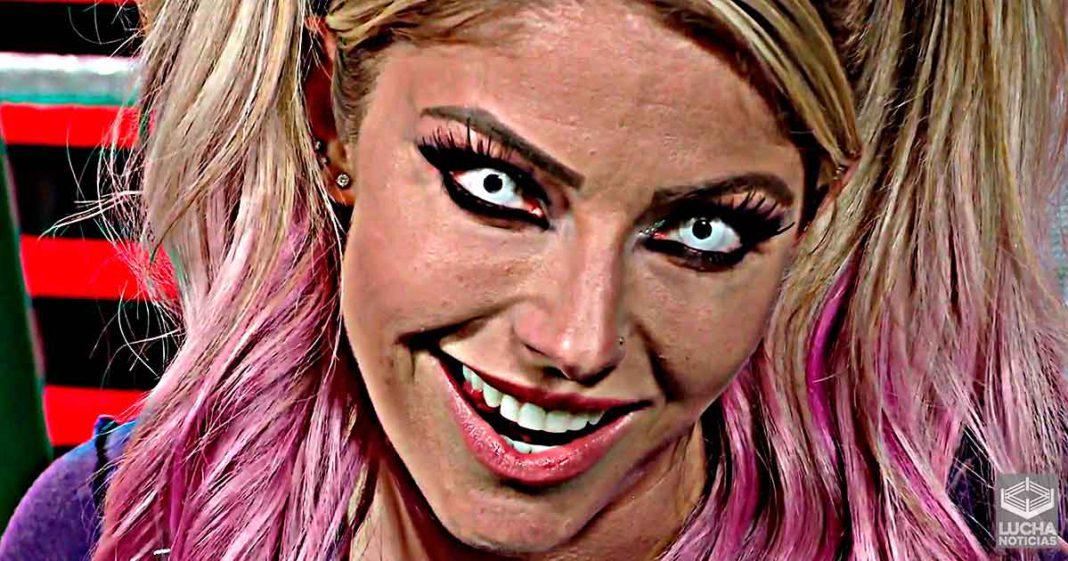 Alexa Bliss solicitó su salida de WWE en el mes de agosto