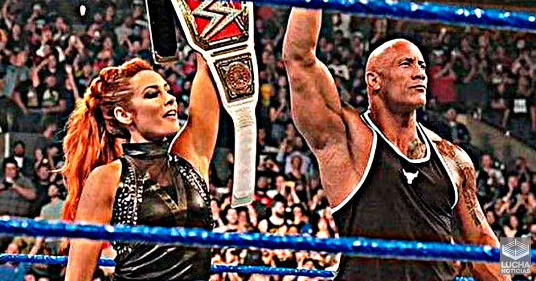 Becky Lynch pidió permiso a The Rock para usar su finisher en WWE SummerSlam