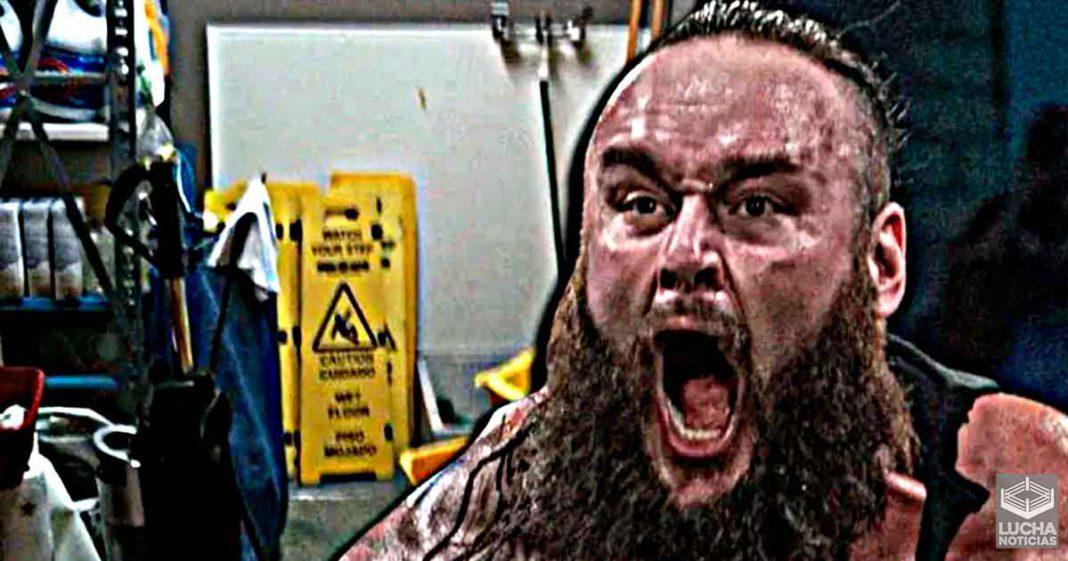 Braun Strowman recibe oferta para ser el conserje de empresa de lucha libre