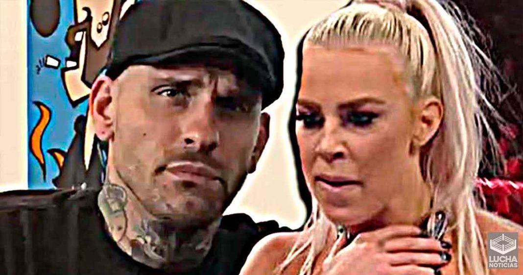Dana Brooke responde a Corey Graves por burlarse de ella en los comentarios de RAW