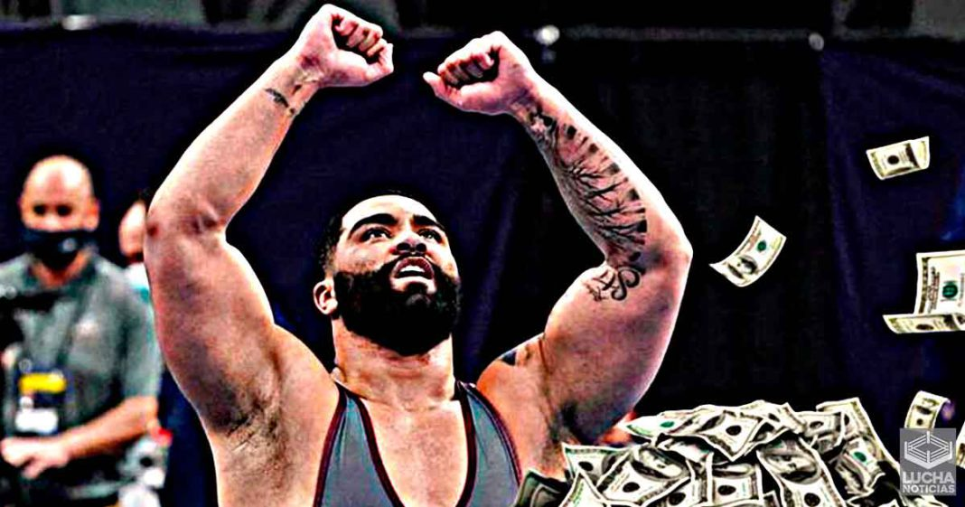 Gable Steveson es el luchador amateur mejor pagado de la historia por WWE