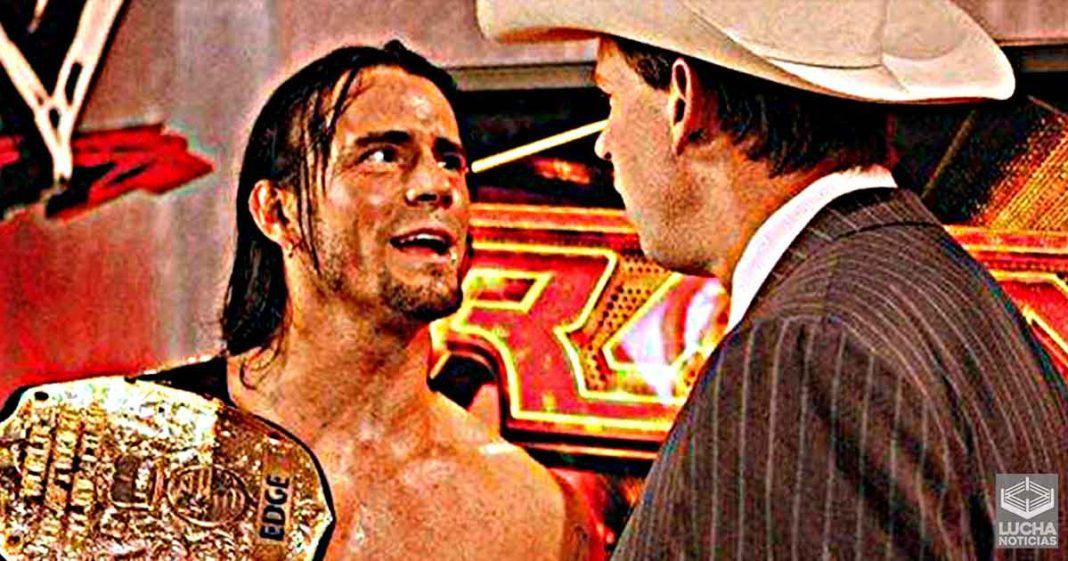 JBL quería que CM Punk se vea lo más fuerte posible