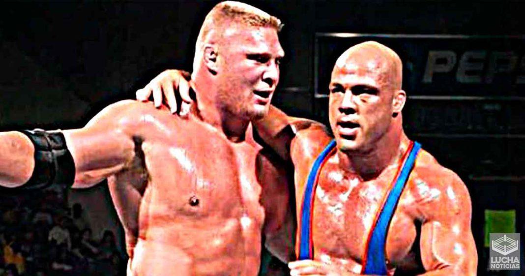 Kurt Angle pelearía con Brock Lesnar por el dinern adecuado