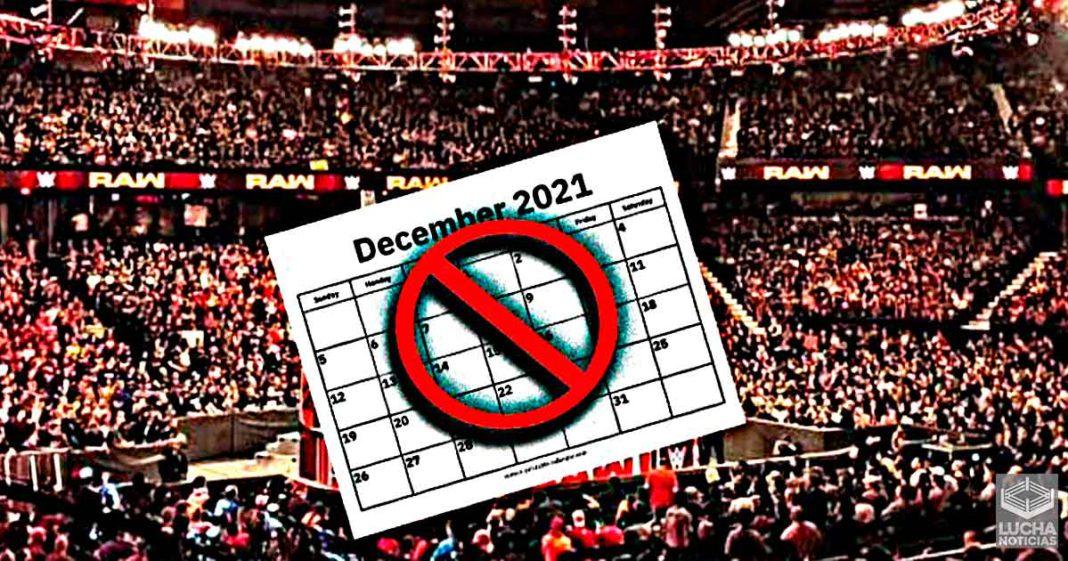 WWE no realizara PPV para el mes de diciembre este año