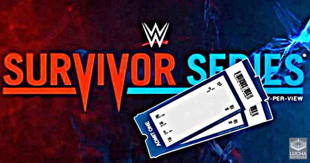WWE tiene grandes problemas con la venta de boletos de Survivor Series